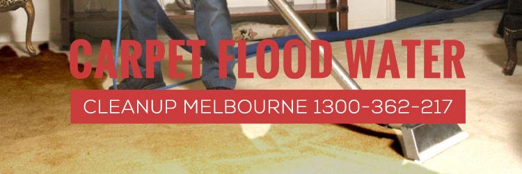 Carpet Flood Water Cleanup Melbourne